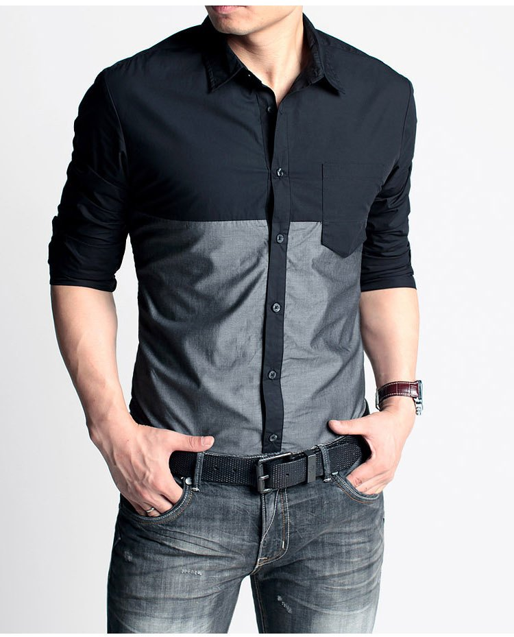 casual-black-shirts-for-men-a37obtku | Smart's Apparel
